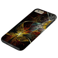 Colorful Artistic Fractal Tough iPhone 6 Plus Case