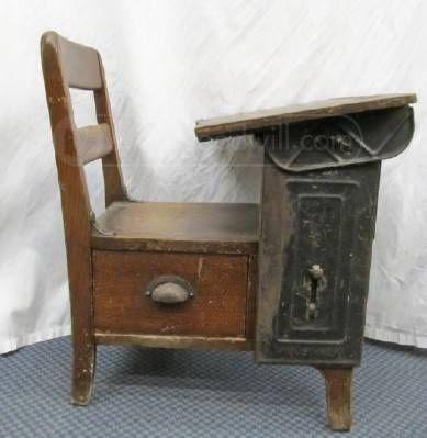 Lovely Old Child's School Desk