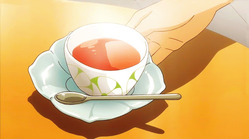 Rose hip tea, Tamayura ~hitotose~, Episode 3.