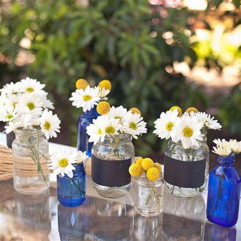Southern Themed Bridal Shower   Jars, Shower centerpieces