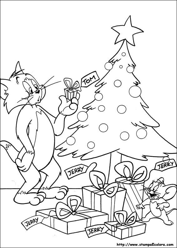 Disegni Di Tom E Jerry Da Colorare