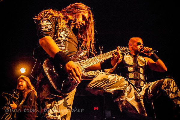 Sabaton, at the Ace of Spades, Sacramento