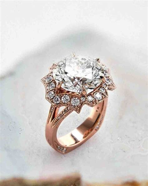 21 Unique Engagement Rings You'll Love   Martha Stewart