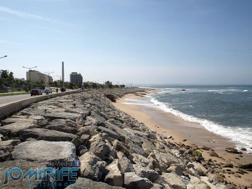 Costa da Figueira da Foz e Buarcos. Ocean front of Figueira da Foz and Buarcos
