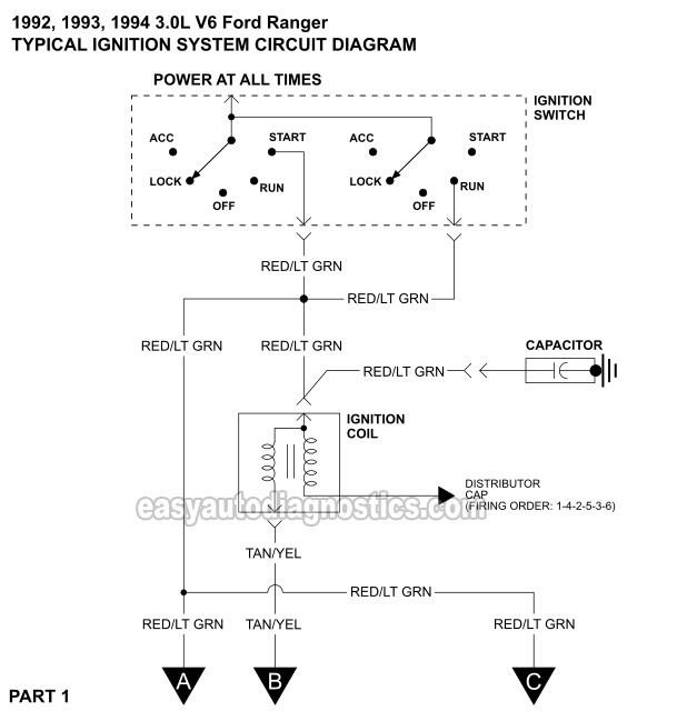1999 Ford Ranger Ignition Wiring Diagram Wiring Diagram Local2 Local2 Maceratadoc It