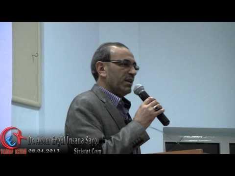 """Bozkır Memur-Sen """"İnsana Saygı"""" Konferansı 09.04.2013"""