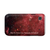 North America Nebula Infrared Samsung Galaxy S Cases