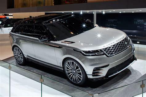 range rover velar suv revealed geneva debut specs
