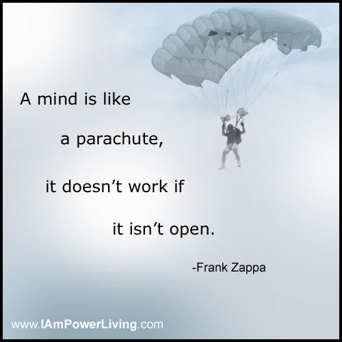 An Open Mind Power Living Today