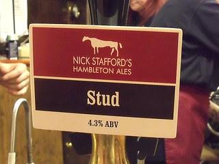 Nick Stafford's Hambleton Ales, Stud, England