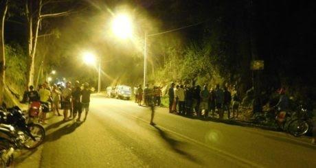 Vítima caiu na margem da pista. Foto: Site Mídia Bahia