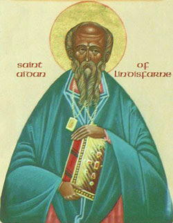 Image of St. Aidan of Lindisfarne