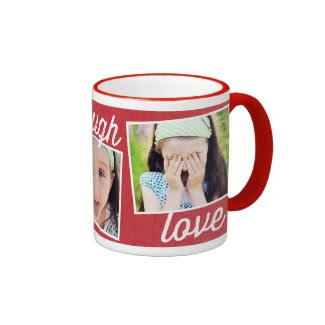Live Laugh Love Custom Photo Mug Mug