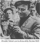 L'attore Osvaldo Valenti (1906-1945) con la divisa della Decima Mas durante il periodo della Rsi