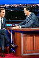 matthew mcconaughey reenacts stephen colberts old exit 57 sketch late show 03