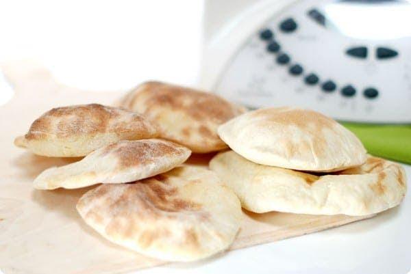 Pan de pita con Thermomix