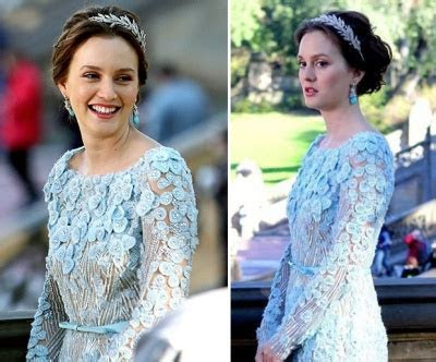 Get the Look: Blair Waldorf's Wedding Dress