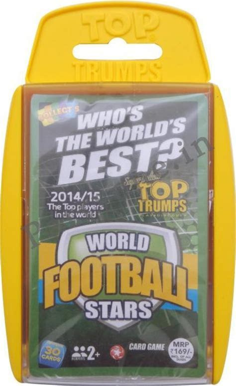 Top Trump Cards In A Case   World Football Stars P1PC0005194