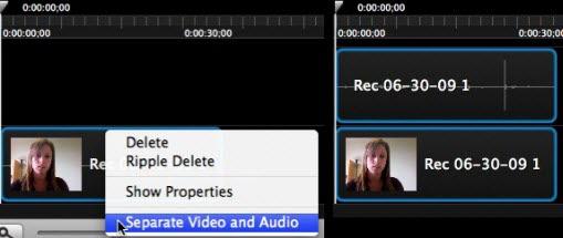 แยกเสียงและภาพในวีดีโอจากกันด้วย Camtasia Studio 8