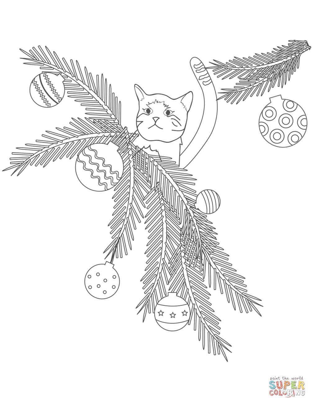 Dibujos De Animales Navidenos Para Colorear Paginas Para Imprimir
