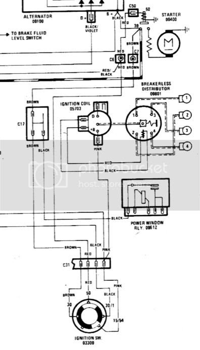Ignition Switch Starter Relay