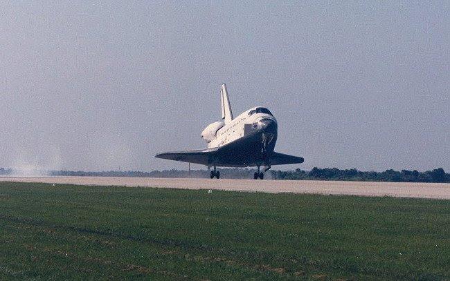 Apr19-1985-STS51Dlanding