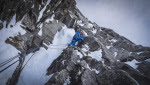 Sagwand first winter ascent by Auer, Lama and Ortner
