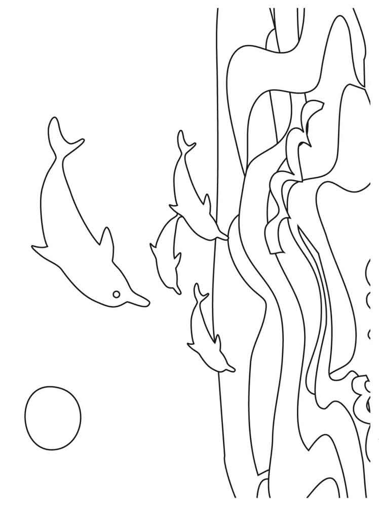 Dolphin coloring pages. Download and print dolphin ...