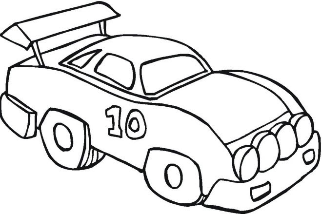 Car Coloring Pages Free Download - Coloring Pages Galleries
