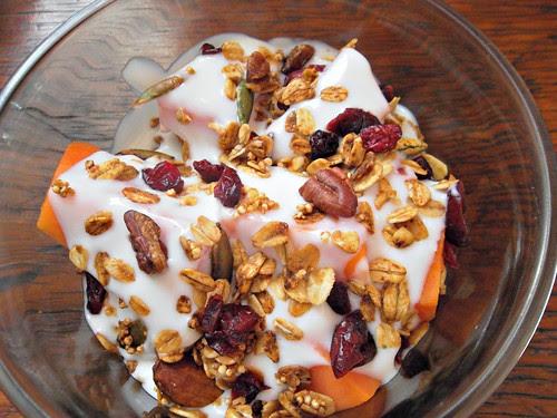 Muesli con yoghurt