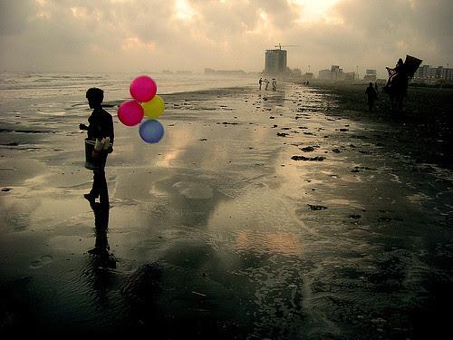 Returning to the same ocean. por ali khurshid