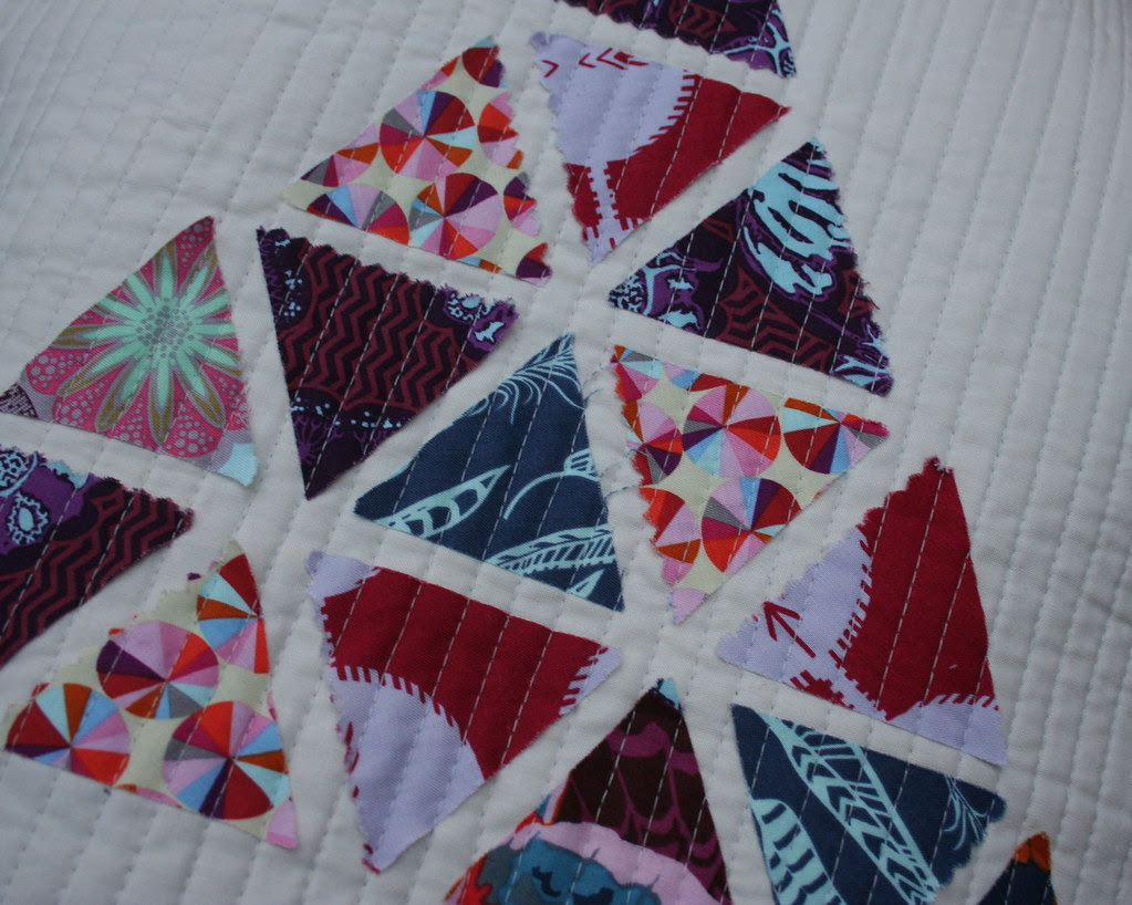 sewing close up