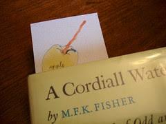 golden delicious bookmark