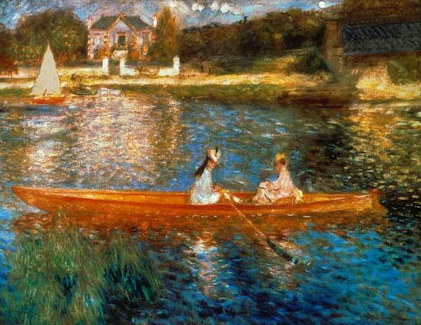 Pierre-Auguste Renoir - Paseo en bote en la Sena