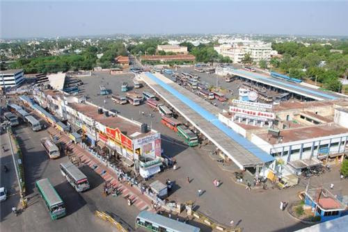 Image result for CCTV chatram bus stand trichy