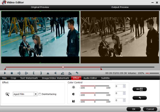 Deinterlace interlaced video into progressive form