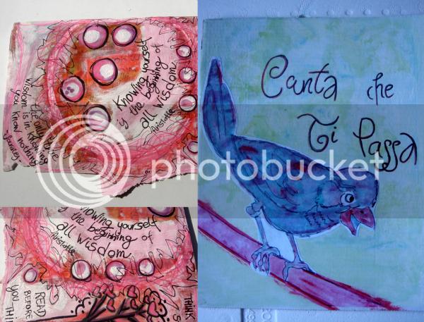mixed medi, art collage, illustrazioni per bambini, quadretto acquerello