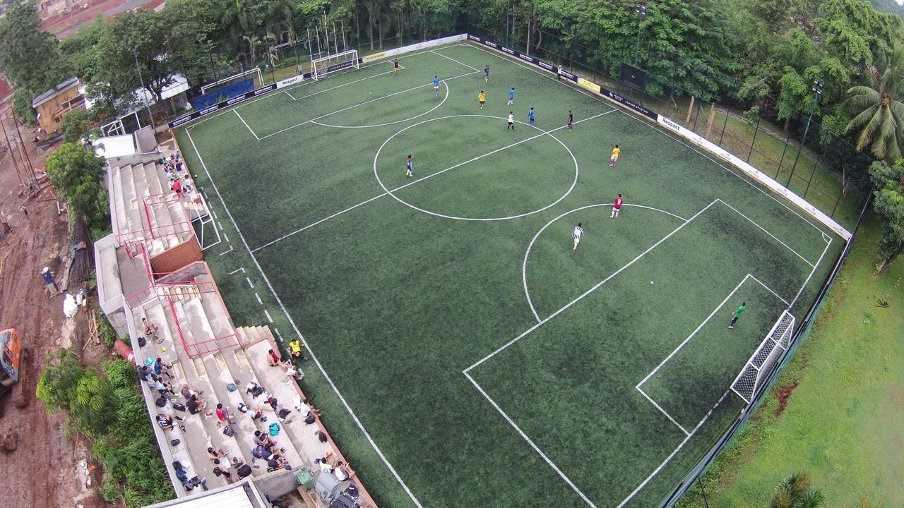 Contoh Gambar Lapangan Sepak Bola Contoh Bass