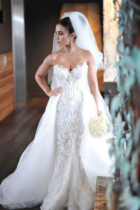 Steven Khalil Custom Made Second Hand Wedding Dress on