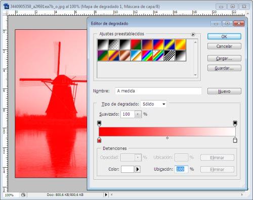 Atardeceres y Amaneceres en Photoshop - Paso 3