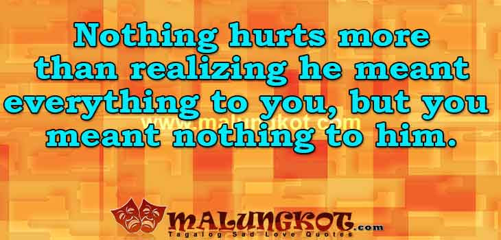 Heartache Quotes And Sayings Collection By Malungkotcom