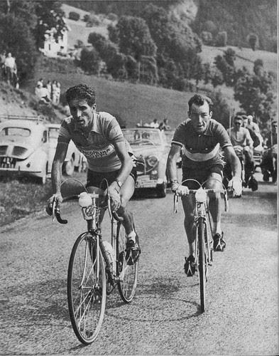 Federico Martín Bahamontes en el Tour de 1959