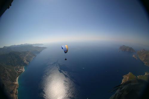 Dual Tandem Paragliding