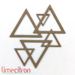 Chipboard -  Triangles
