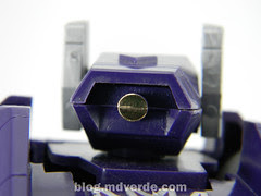 Transformers Shockwave G1 - modo robot