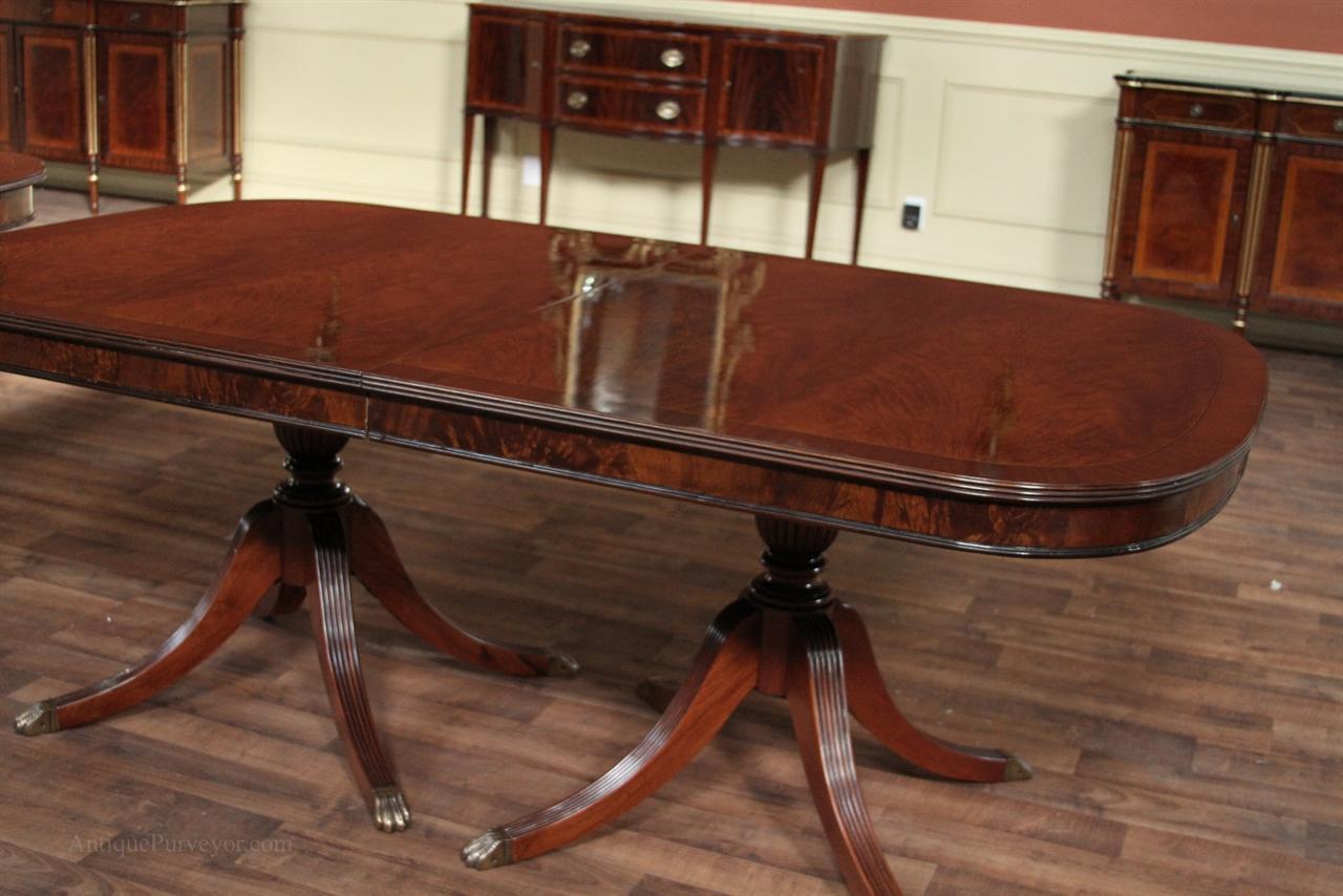 Mahogany Dining Room Table | Mahogany Dining Table | Large Dining ...