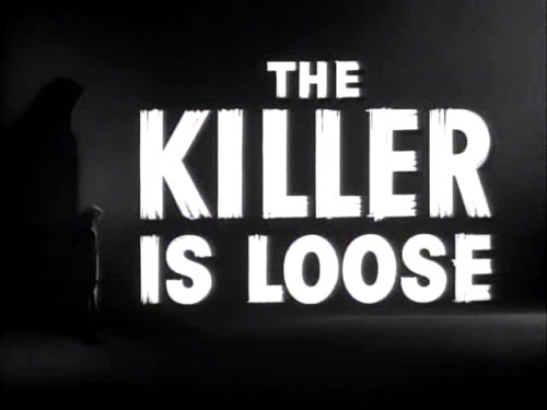THE KILLER IS LOOSE WE MUST FIND HIM! HE WILL KILL AGAIN UNLESS WE STOP HIM FOR GOOD! THE DEAD GAME HAS BEGUN.
