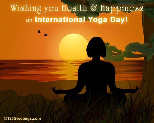Health Happiness On Intl Yoga Day Free International Yoga Day