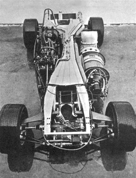 STP Paxton Gas-Turbine Indy Racer 1967 (via CarPictures