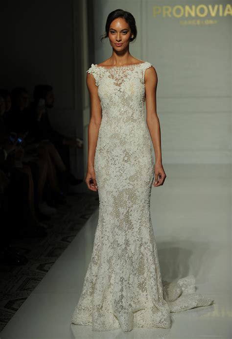 Pronovias Fall 2016 Wedding Dress Collection   Dipped In Lace